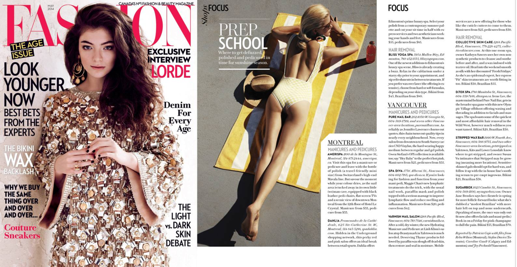 Fashion Magazine Shops Focus Prep School